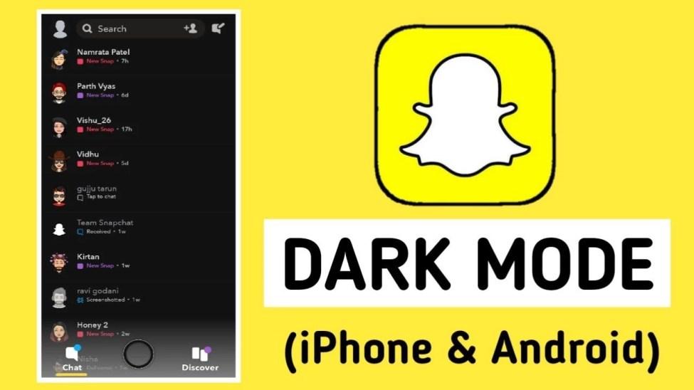 Snapchat Karanlık Mod