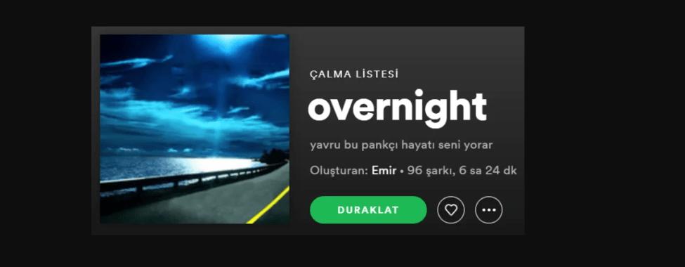Spotify Çalma Listesi İsimleri