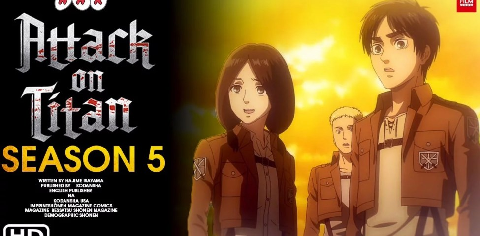 Attack on Titan 5. Sezon Ne Zaman Çıkacak ??