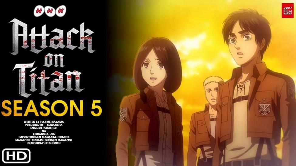 Attack on Titan 5. Sezon