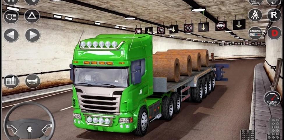 Euro Truck Driving Simulator 3D Free Game Apk İndir
