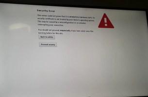 Vestel Tv Security Error Hatası