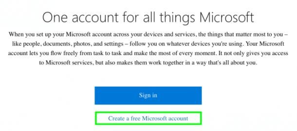 Cara terbaru membuat akun Microsoft dengan mudah.  Anda bisa menggunakan Akun Microsoft Anda dengan memakai fitur-fitur Microsoft, membeli aplikasi, melakukan panggilan Skype, membuat mengeditan Office Online, berbagi dokumen dengan Office dan berbagi file di OneDrive.