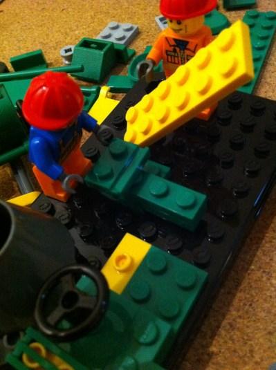 Lego brick on IPhone4