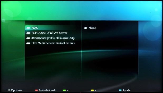 Philips Smart TV - Servidor Medios