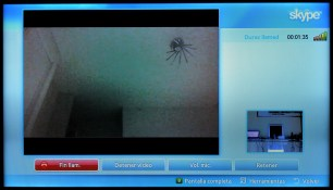 Samsung Smart TV Skype