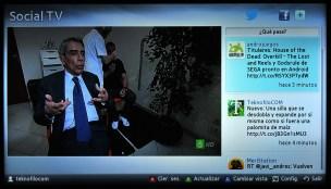 Samsung Smart TV Social TV