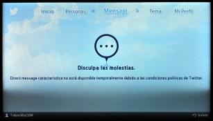Samsung Smart TV Twitter