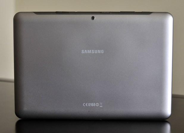 Galaxy Tab 2 10.1 - parte de atrás
