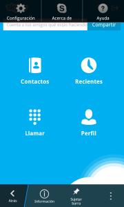BlackBerry Z10: App. Skype