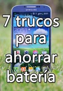 Ahorro batería en Samsung Galaxy S4