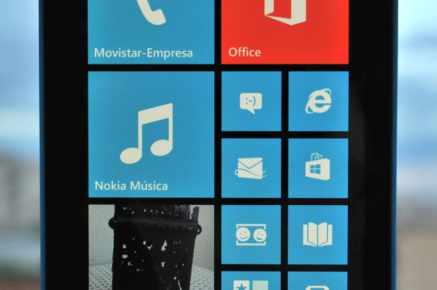 Nokia Lumia 520 pantalla