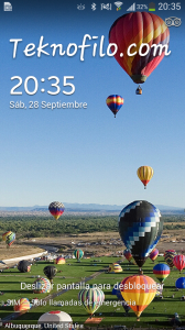 Pantalla bloqueo Galaxy S4 Mini