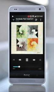 HTC One Mini - rep musica
