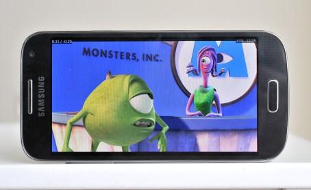 Reproducción película en Galaxy S4 Mini