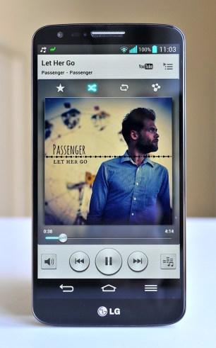 LG G2 musica