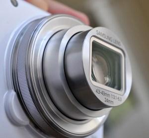 Samsung Galaxy S4 Zoom - camara