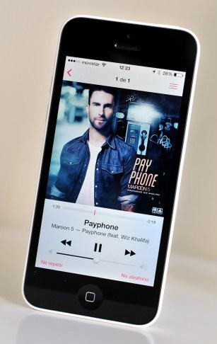 iPhone 5c - musica