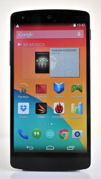 Google Nexus 5 - frente
