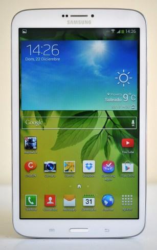 Samsung Galaxy Tab 3 8.0 - frontal