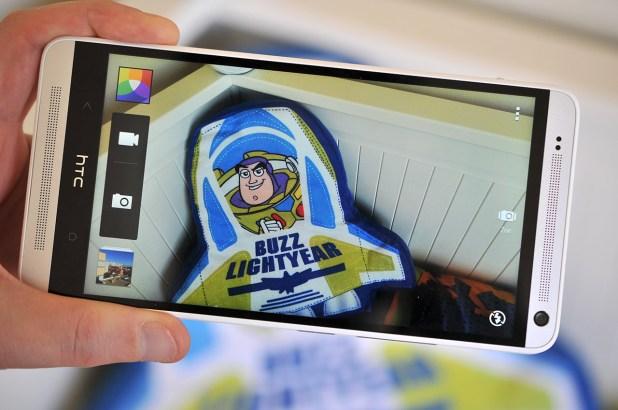 HTC One Max - camara