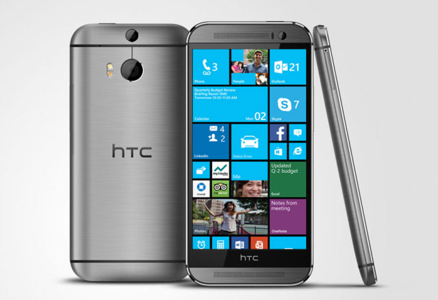 HTC M8 con WP