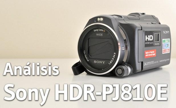 Sony JDR PJ-810E - Analisis