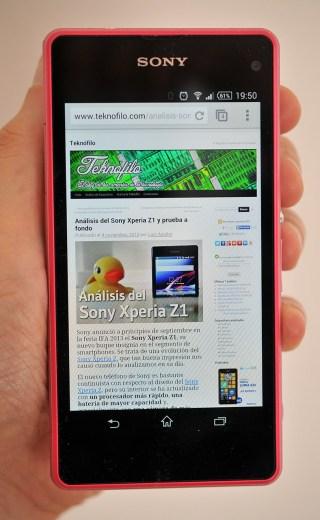 Sony Xperia Z1 Compact - 1