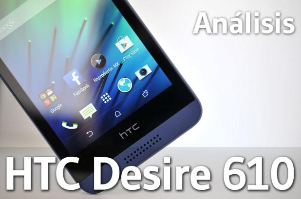 HTC Desire 610 - Analisis
