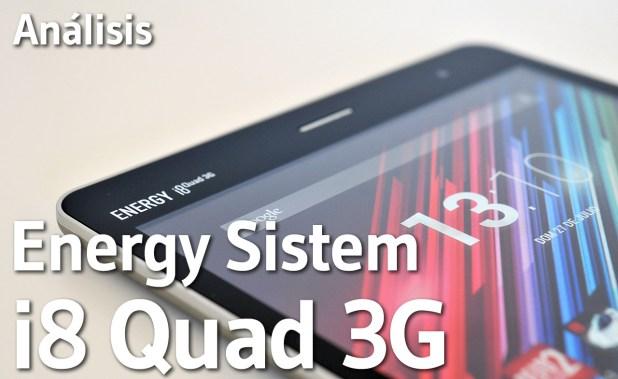 Tablet Energy Sistem Energy i8 Quad 3G Quad 3G - Analisis