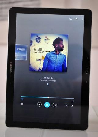 Samsung Galaxy NotePRO - Musica