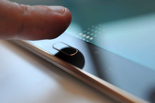 Samsung Galaxy Tab S - Huella dactilar