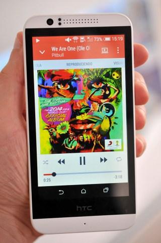 HTC Desire 510 - musica