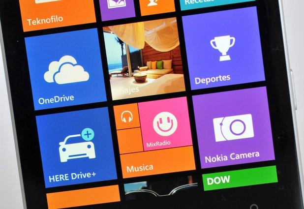 Nokia Lumia 930 - pantalla