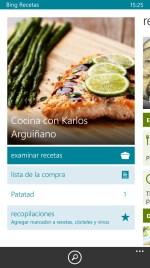 Bing Recetas