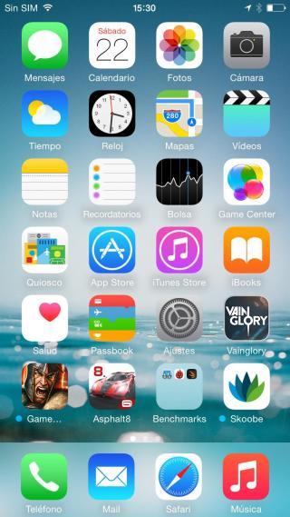 Sistema iOS 8