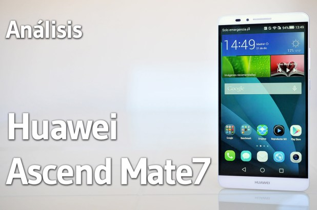 Huawei Ascend Mate7 - Portada