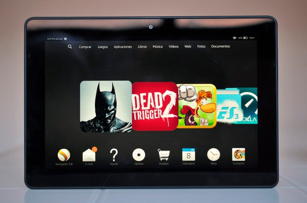 Kindle Fire HDX 8.9 - Frontal