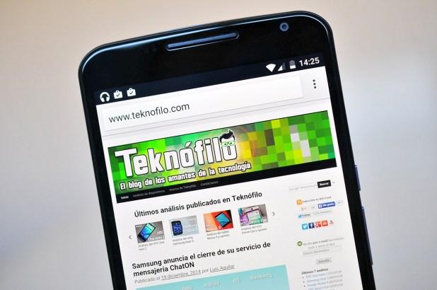 Google Nexus 6 - Pantalla