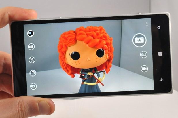 Nokia Lumia 830 - camara interfaz