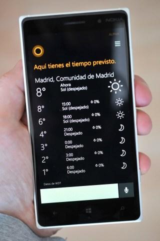 Nokia Lumia 830 - cortana