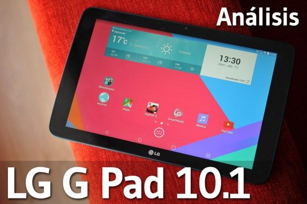 LG G Pad 10.1 - Analisis