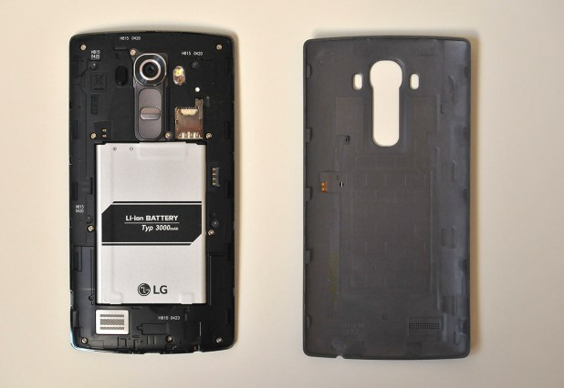 LG G4 - Interior