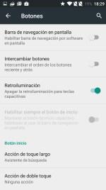 Ajustes en OnePlus 2