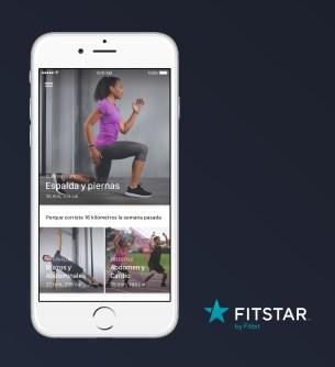 Spanish_Fitstar iOS Dashboard