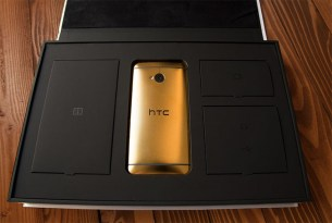 htc one en oro - 3