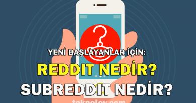 Reddit Nedir?
