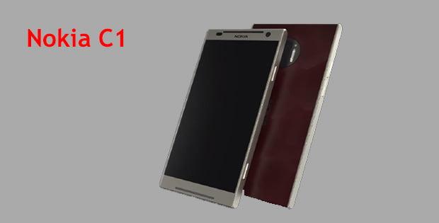 Nokia C1 render görsel