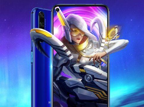 Honor 20 & mobile legends