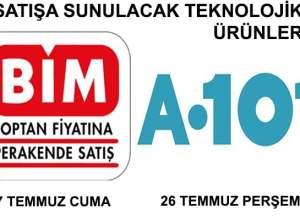 A101 ve BİM Aktüel Ürünler